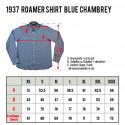 Chemise Chambrey 1937 Roamer Blue