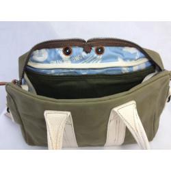 Aviator's Kit Bag Mini by In Memories Sportswear