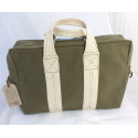 Aviator's Kit Bag Messenger by In Memories Sportswear