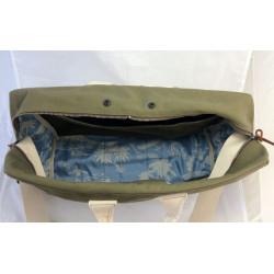 Aviator's Kit Bag Messenger by In Memories Sportswear