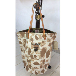 Tote Bag Frogskin USMC Brown by In Memories Sportswear