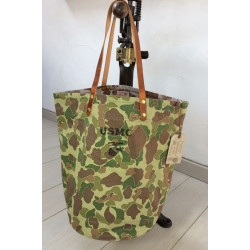 Tote Bag Frogskin USMC Green by In Memories Sportswear