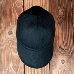 Casquette USAAF A3 Denim 13oz Noir 1944 Pike Brothers