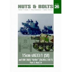 Grille 15cm sIG 33/1 (Sf) Ausf. H (Sd.Kfz. 138/1)