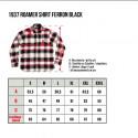 Chemise Flanelle - 1937 Roamer Shirt Ferron Black Pike Brothers
