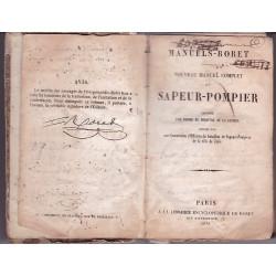 Manuel RORET SAPEUR-POMPIER edition 1851