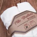 1938 T-Shirts coton pack de 2 - 1938 Tee Shirt Set rib white Pike Brothers