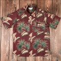 Chemise Hawaïenne - 1937 Roamer Shirt Short Sleeve Maohu red