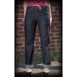 Jean Denim Rosie  - Ladies Worker Jeans Restless Rosie - Rumble 59