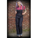 Salopette Denim  - Ladies Denim Dungarees Playsuit - Rumble 59
