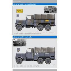 Einheitsdiesel – l.gl.Lkw., off. mit Einheitsfahrgestell für l.Lkw.