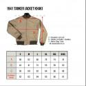 Blouson Tankiste - 1941 Tanker Jacket khaki Pike Brothers
