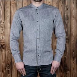 Chemise en lin Hudson Gris - Pike Brothers 1923 Buccanoy Shirt Hudson grey