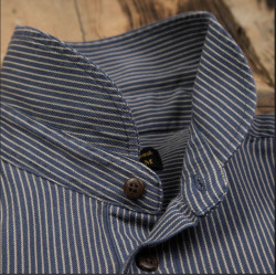 Chemise 100% Coton Treves Blue - Pike Brothers 1908 Miner Shirt Treves blue