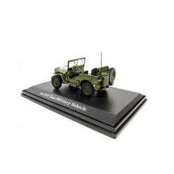 Miniature Jeep Décapotée Oliex 1/43