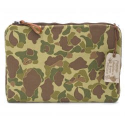 HOUSSE MACBOOK PC PORTABLE CAMOUFLAGE FROGSKIN KAKI - IN MEMORIES SPORTSWEAR