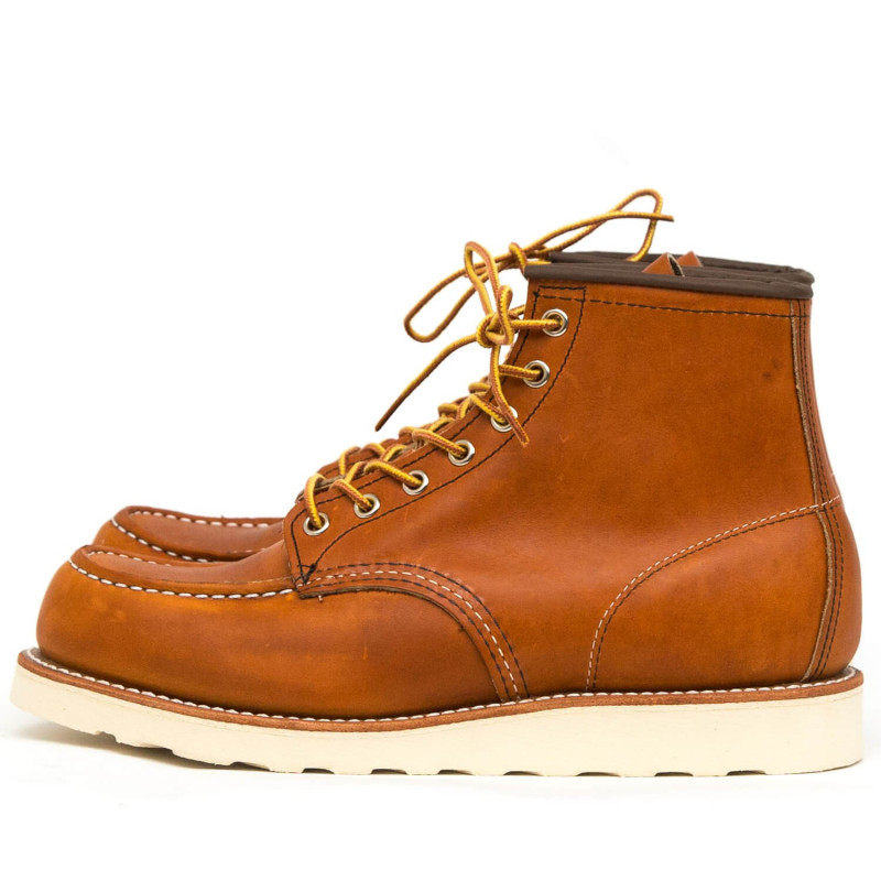 """Bottines 6"""" Classic Moc Toe Oro Legacy Red Wing Shoes"""
