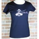 """T-Shirt Femme """"US NAVY WAVES"""" - Atelier de Flo"""