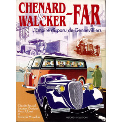 Chenard & Walcker Far : L'empire disparu de Gennevilliers