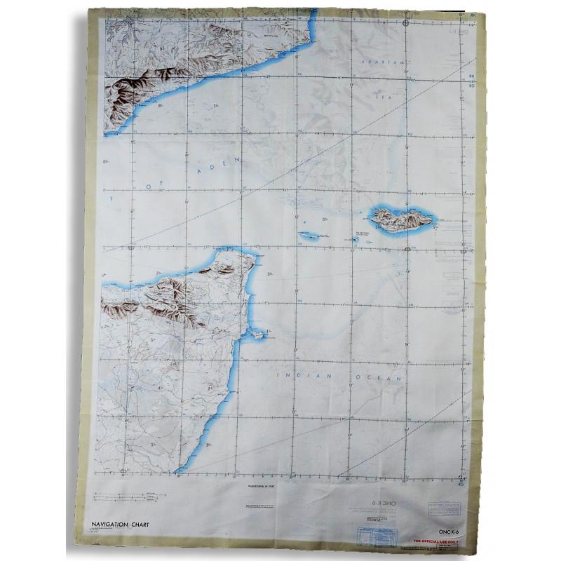 FOULARD SOIE Territoire français des Afars et des Issas (Djibouti), Ethiopie ONC-K6