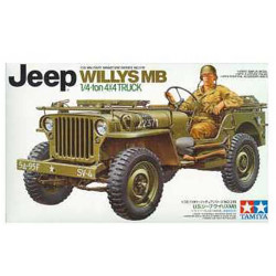 Maquette 1/35 - US Jeep Willys MB 1/4 Ton Truck - Tamiya 35219