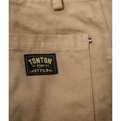 Pantalon Arsène Canvas Tan - Tonton et Fils
