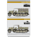 Famo's Sd.Kfz. 9 18 ton Zugkraftwagen – armoured and unarmoured variants