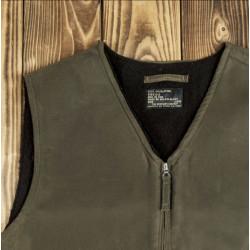 Veste C2 waxée - 1942 C2 Vest waxed oliv Pike Brothers