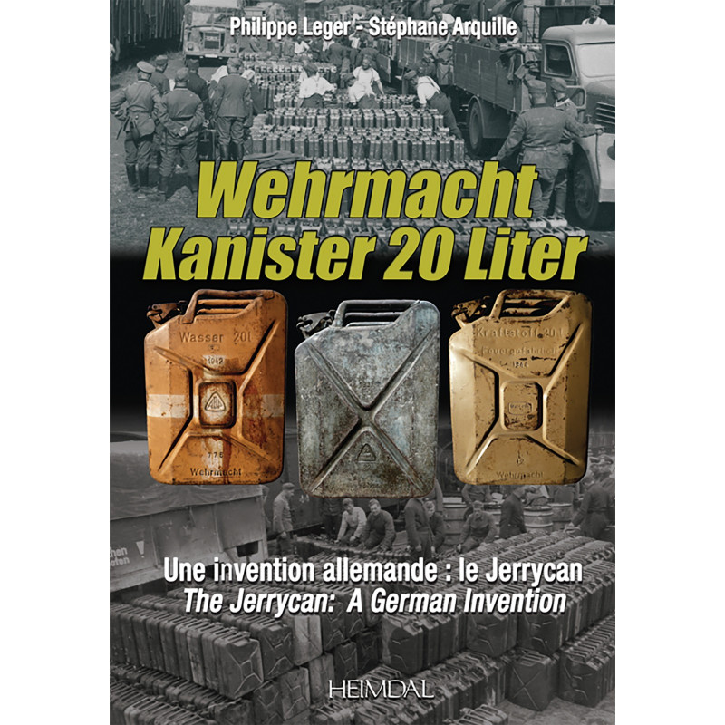 WEHRMACHT KANISTER 20 LITER - LE JERRYCAN