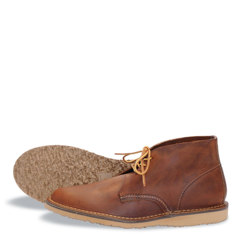 3322 Weekender Chukka Copper Rough & Tough - Red Wing Shoes