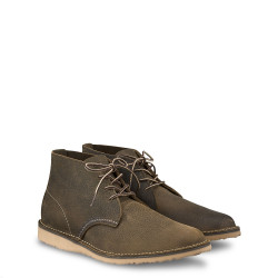 3327 Weekender Chukka Olive Brown Roughneck - Red Wing Shoes