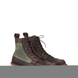 3336 Wacouta - 6-inch Moc Briar Oil Slick + Olive Canvas - Red Wing Shoes