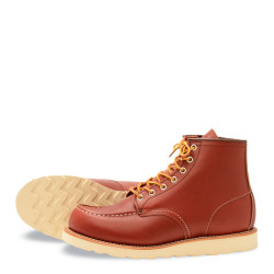 8131 Moc Toe Oro Russet Portage - Red Wing Shoes