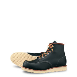 8859 Moc Toe Navy Portage - Red Wing Shoes