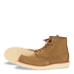 8881 Moc Toe Olive Mohave - Red Wing Shoes