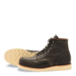 8890 Moc Toe Charcoal Rough & Tough - Red Wing Shoes