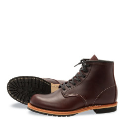 9011 Beckman - Round Toe Black Cherry Featherstone - Red Wing Shoes