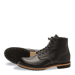 9014 Beckman - Round Toe Black Featherstone - Red Wing Shoes