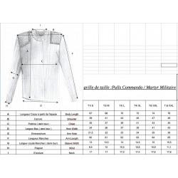 Pull COMMANDO 100% laine - Fleurs de Bagne