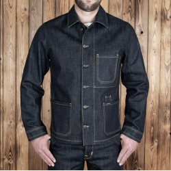 Veste en Jean - 1936 Chopper Jacket 16oz indigo – Pike Brothers