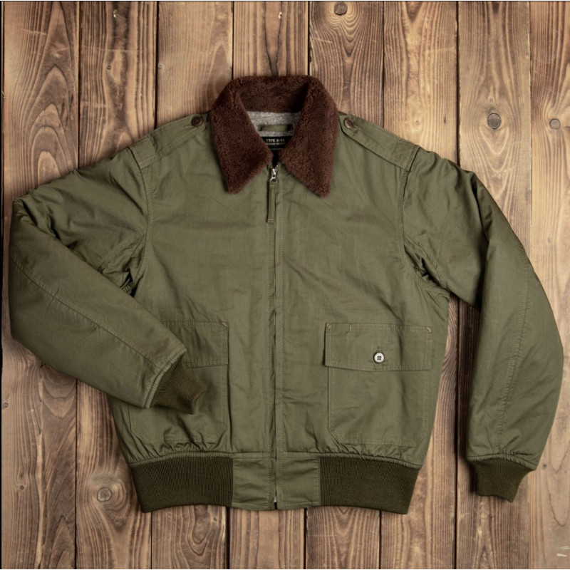 Blouson de pilote B10 - 1943 B-10 Flight Jacket olive drab – Pike Brothers