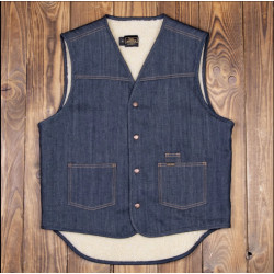 Gilet Rodeo - 1966 Rodeo Vest 13oz indigo – Pike Brothers