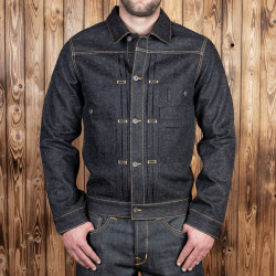 Veste en Jean - 1908 Miner Jacket 14oz hemp denim – Pike Brothers
