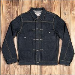 Veste en Jean - 1908 Miner Jacket 14oz hemp denim – Pike Brothers