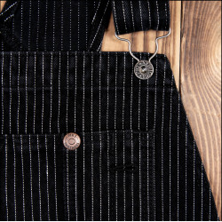 Salopette jean - 1953 Mechanic Bib black wabash – Pike Brothers