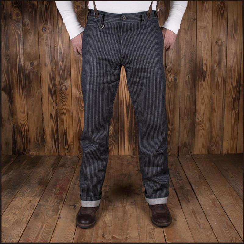 Pantalon Denim - 1942 Hunting Pant blue wabash – Pike Brothers
