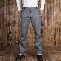 Pantalon Denim - 1942 Hunting Pant grey wabash – Pike Brothers