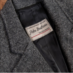 Veste en laine – 1938 Cricketeer Jacket Dundee grey – Pike Brothers