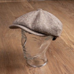Casquette 1928 Newsboy Cap Suffolk brown – Pike Brothers
