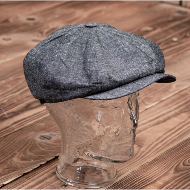 Casquette 1928 Newsboy Cap smoke grey  – Pike Brothers